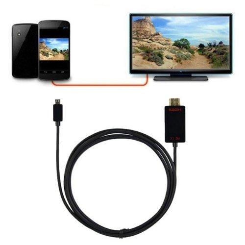 Cáp Slimport to HDMI 1.8m - Cáp kết nối Google Nexus 4, 7, LG G Pro, LG G2, LG G3 với Tivi máy chiếu