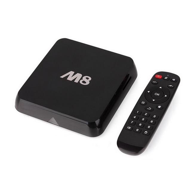 Android TV Box M8 - Thiết bị xem phim, nghe nhạc, facebook, chơi game tốt nhất giá rẻ