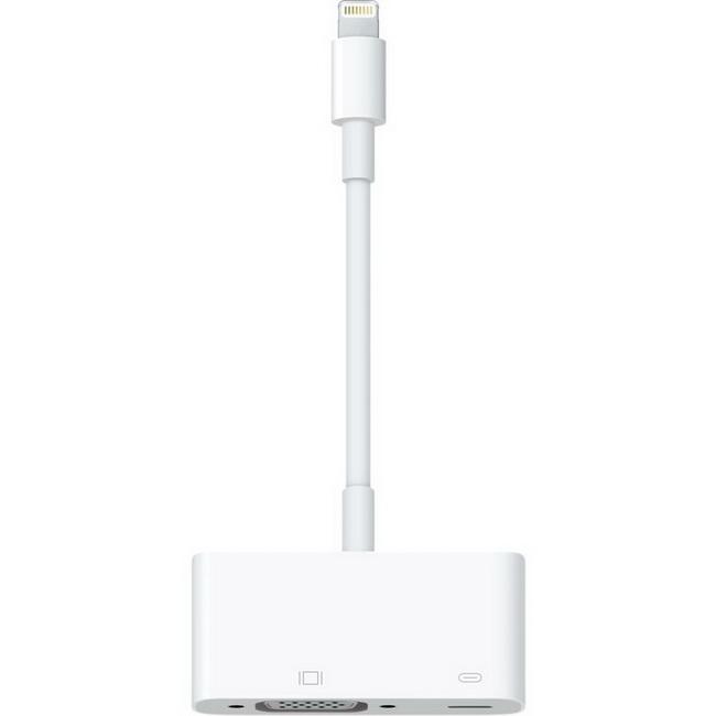Lightning to VGA - Cáp kết nối iphone ipad cổng lightning với máy chiếu