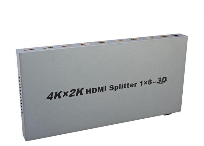 HDMI Splitter 1 in 8 out Dtech 4K 2K