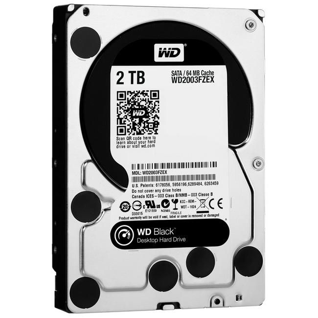 HDD WD Black 2TB - Ổ cứng gắn trong WD Black 2TB cho máy tính để bàn