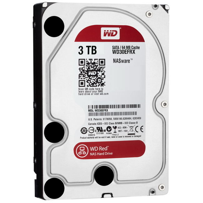 Ổ cứng WD Red 3TB - HDD WD Red 3TB - Ổ cứng gắn trong 3TB