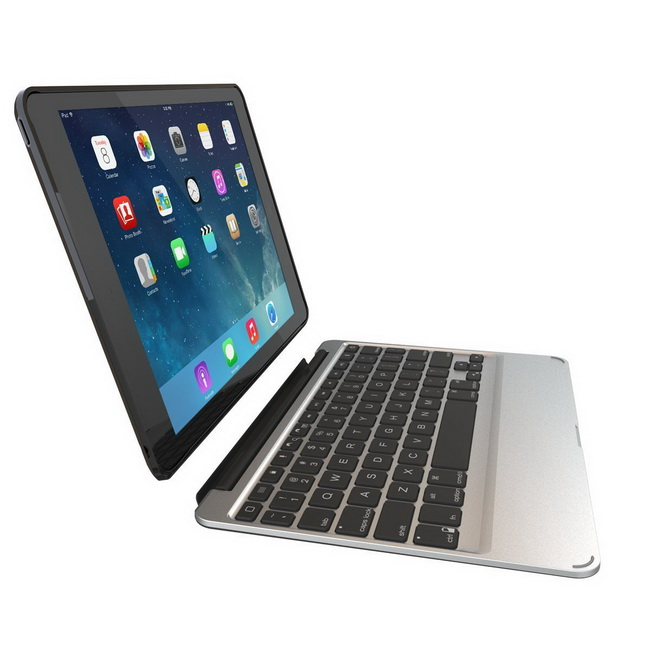 Bàn phím bluetooth - ZAGG Slim Book Case Backlit Bluetooth Keyboard for iPad Air