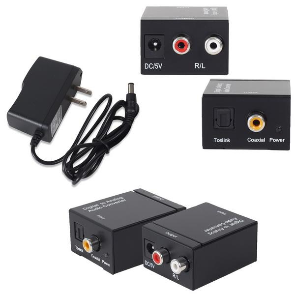 Bộ chuyển đổi âm thanh - Optical to AV - Coaxial to AV - Digital to Analog