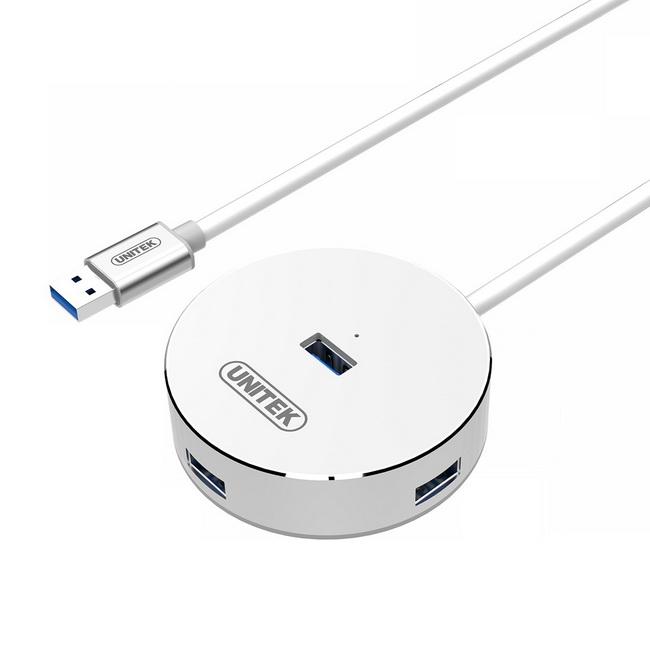Bộ chuyển USB 3.0 ra 4 cổng USB 3.0 Unitek - bộ chia cổng USB 3.0 to 4 cổng USB 3.0 chính hãng giá rẻ