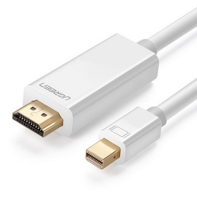Cáp Mini DisplayPort to HDMI 2m - Cáp Thunderbolt to HDMI 2m UGreen chính hãng giá rẻ nhất