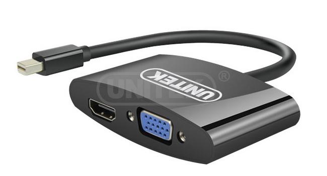 Cáp chuyển Mini DisplayPort to VGA HDMI chính hãng Unitek giá rẻ nhất