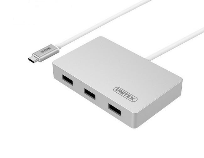 Bộ chuyển USB-C to 3 USB 3.0 + 1 USB-C  - Hub chuyển USB Type-C ra 3 cổng USB 3.0 và 1 cổng USB Type-C