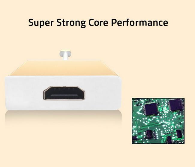 Cáp USB-C to HDMI Adapter - USB 3.1 Type C to HDMI Adapter 2K 4K chính hãng giá rẻ
