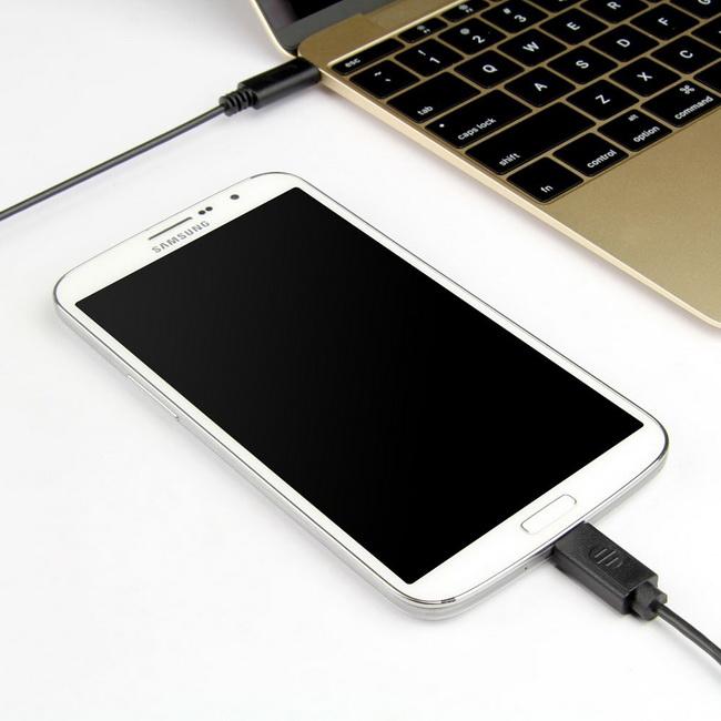 Dây cáp USB 3.1 Type-C đầu ra MICRO USB chính hãng Unitek Y-C473